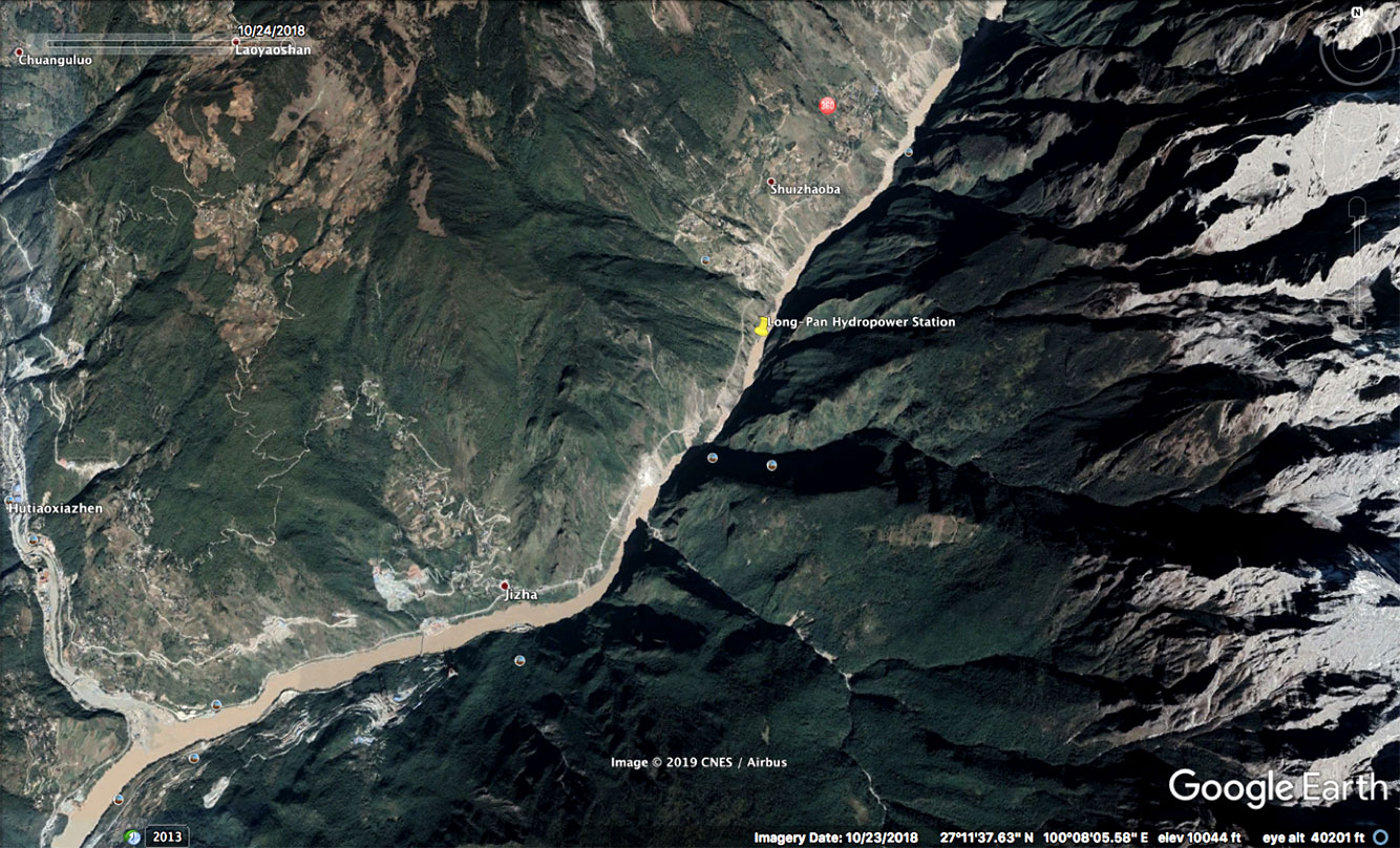 Longpan site location