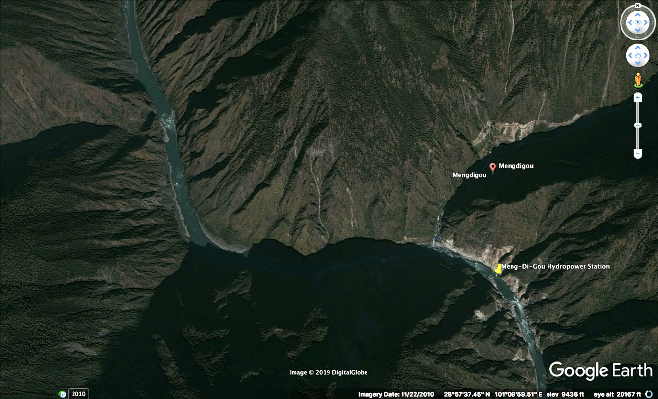Xiaomendigou Hydropower Station