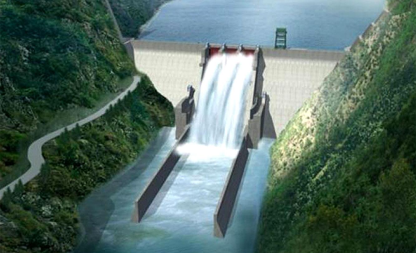 dam at Khala