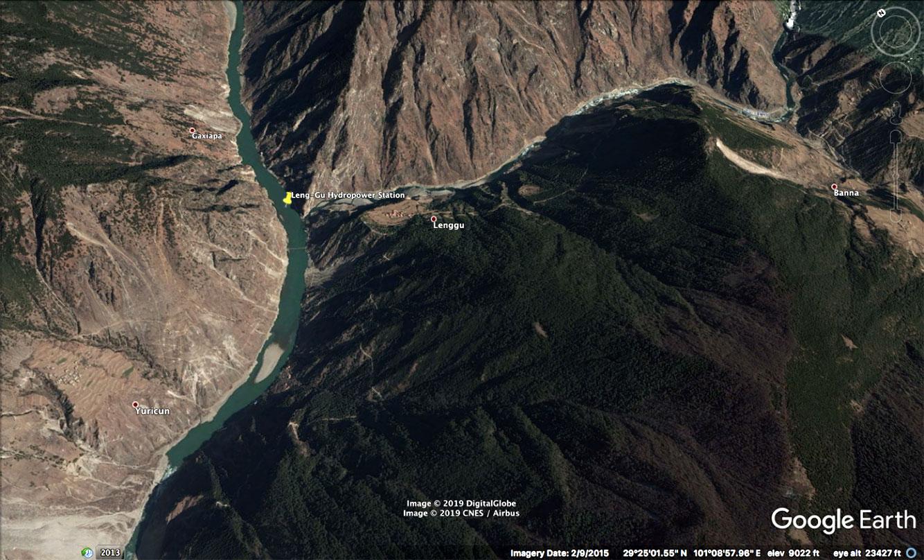 Leng Gu hydropower station