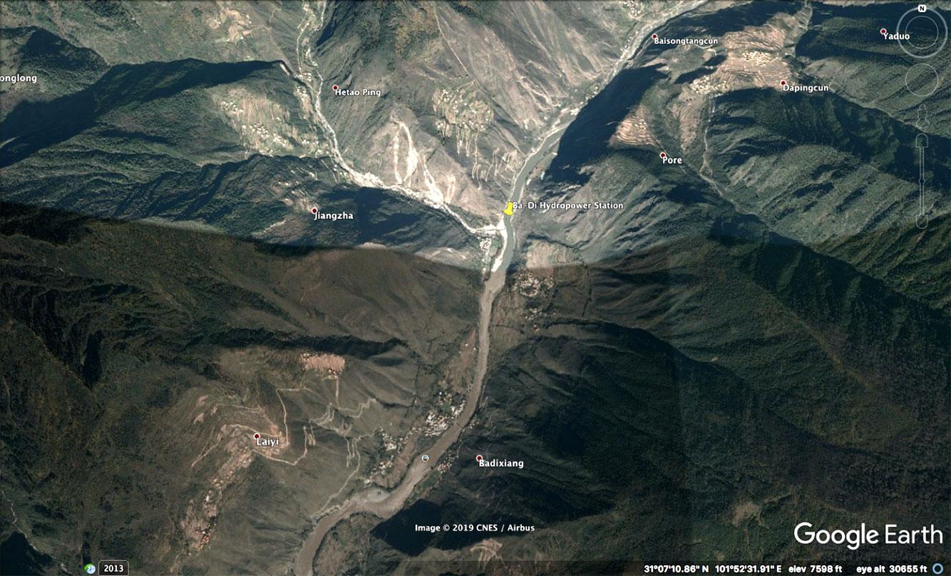 Badi hydropower station
