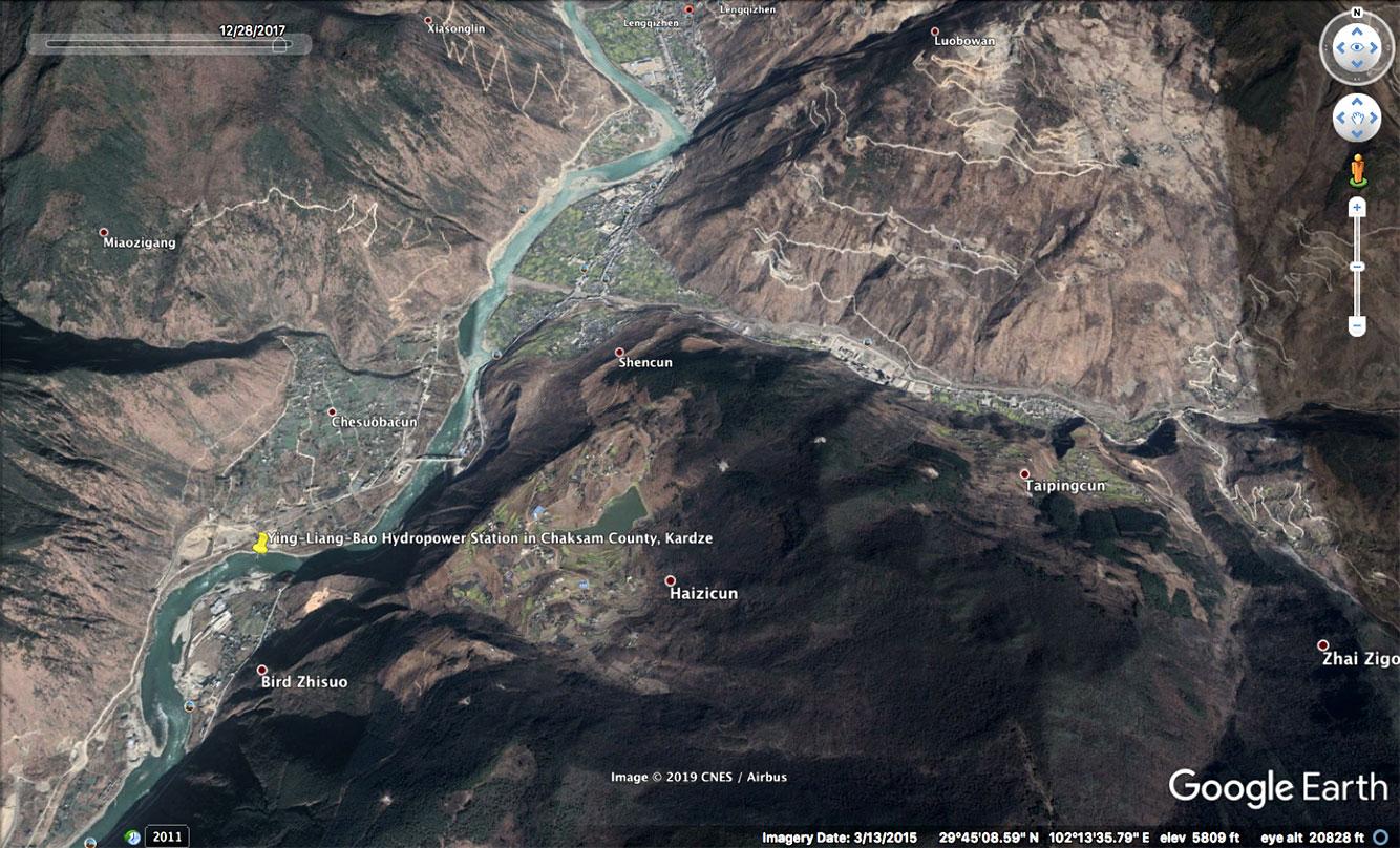 Ying Liangbao hydropower station