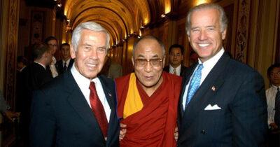 Lugar Biden Dalai Lama