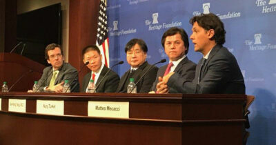 Heritage Foundation panel