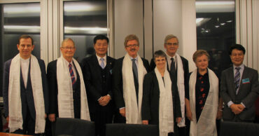 TIG Group with Lobsang Sangay
