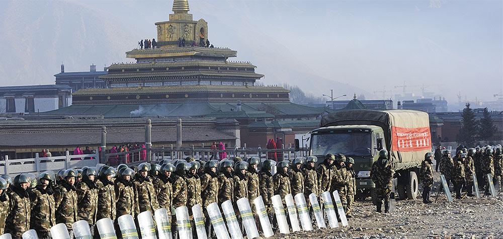 military at labrang