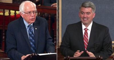 Bernie Sanders and Cory Gardner