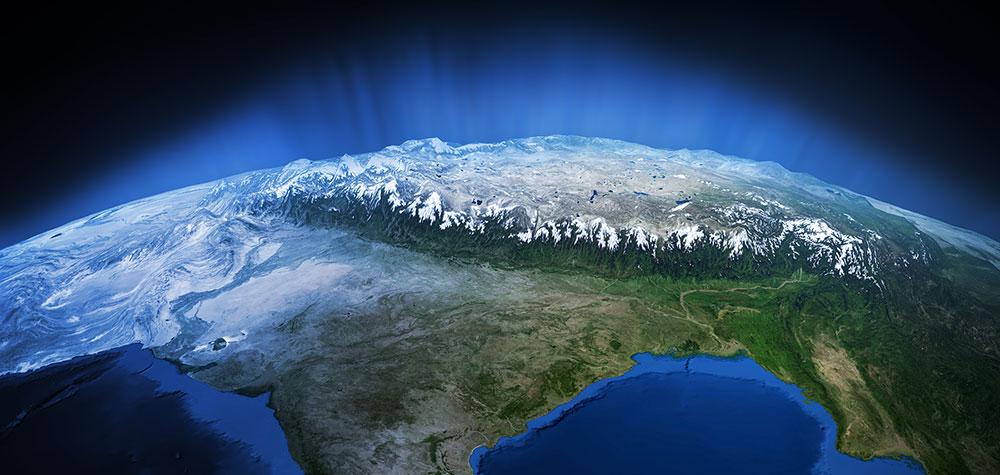 third pole space tibet map