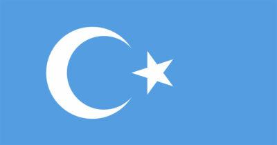 uyghur flag