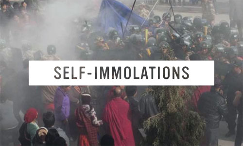 self-immolations
