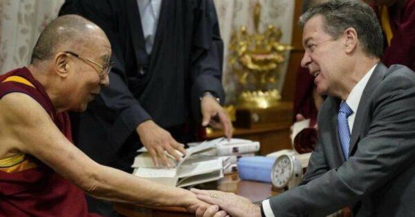 Dalai Lama and Brownback