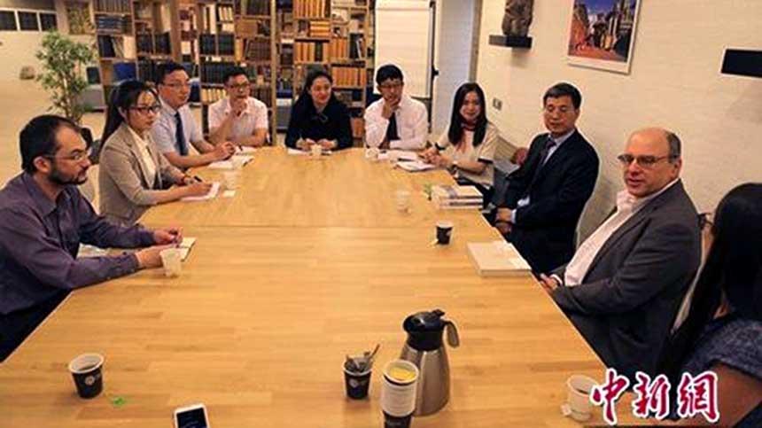 Chinese delegation on Tibetan studies