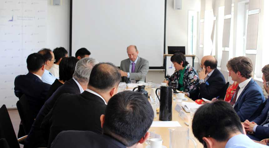 The Institute for Security and Development Policy in Stockholm organized a roundtable with a delegation from the Tibetan Academy of Social Sciences, the Chinese Academy of Social Sciences and the China Tibetology Research Center on June 25, 2018.