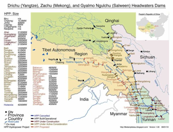 hydro river map