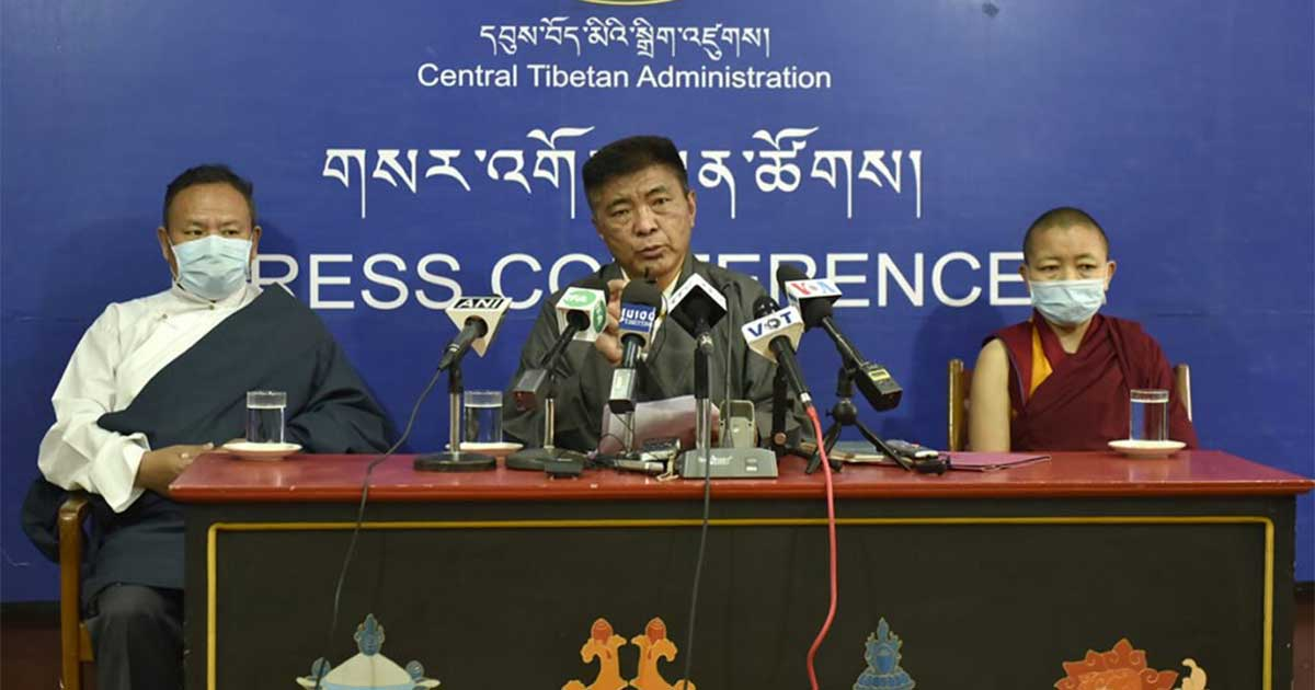 Tibetan election officials