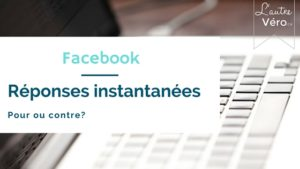 cover facebook reponses instant
