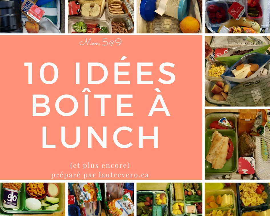 lunch idées enfants faciles exemples photos