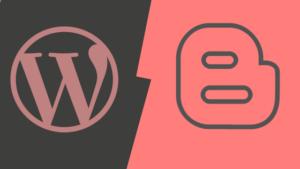 Wordpress ou Blogger: quoi choisir pour commencer?