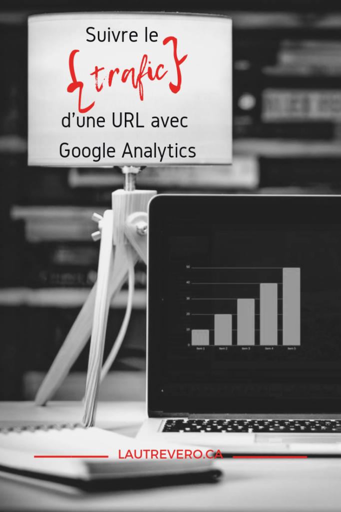Comment suivre le trafic d'une URL en particulier grâce à Google Analytics. Un article de lautrevero.ca à épingler sur Pinterest