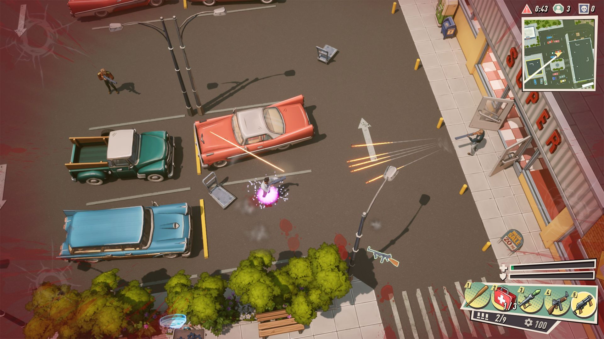 WATCHERS, the Free-to-Play Battle Royale Shooter Where Defeated Players Can Still Wreak Havoc!