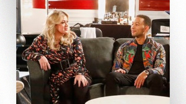 John Legend teases Christmas song with Kelly Clarkson