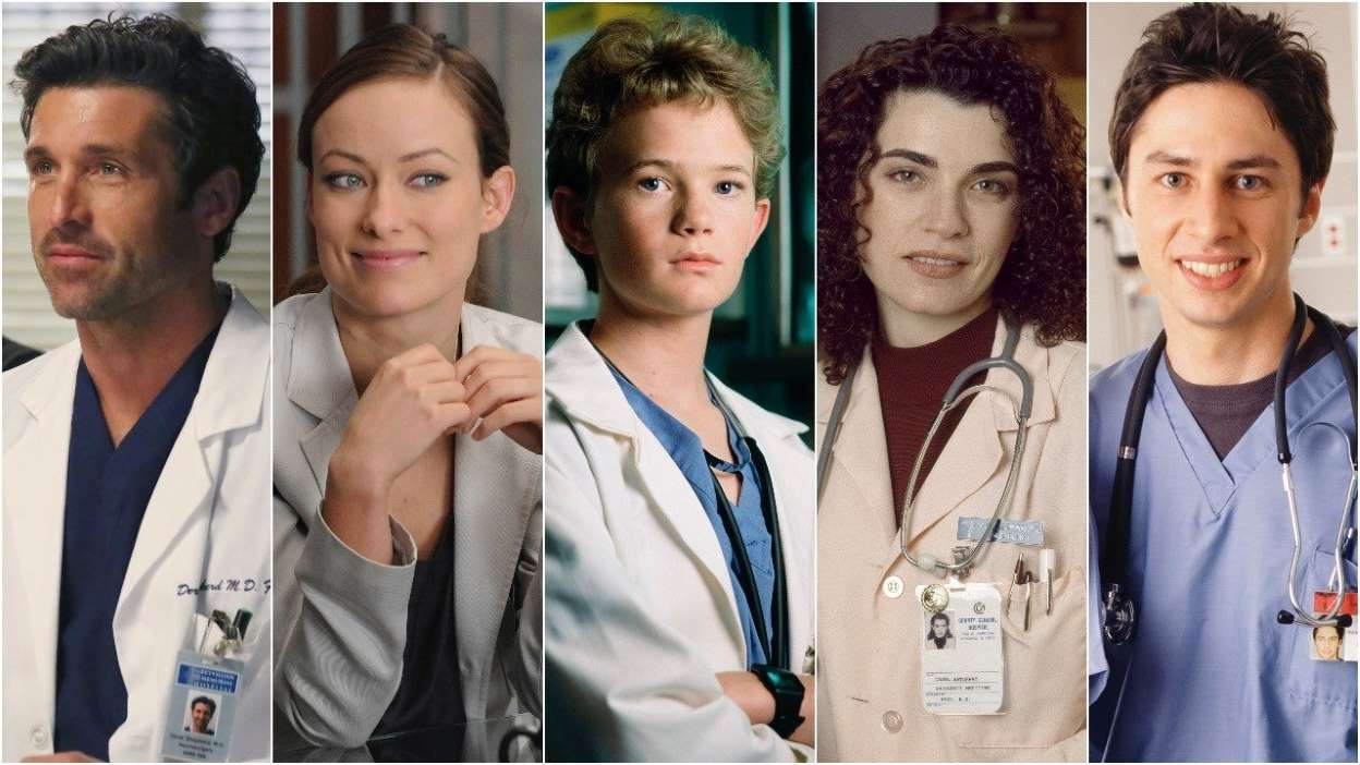 The Fake Doctors We Grew Up With On TV Have A Message For The Real Ones Fighting On The Front Lines