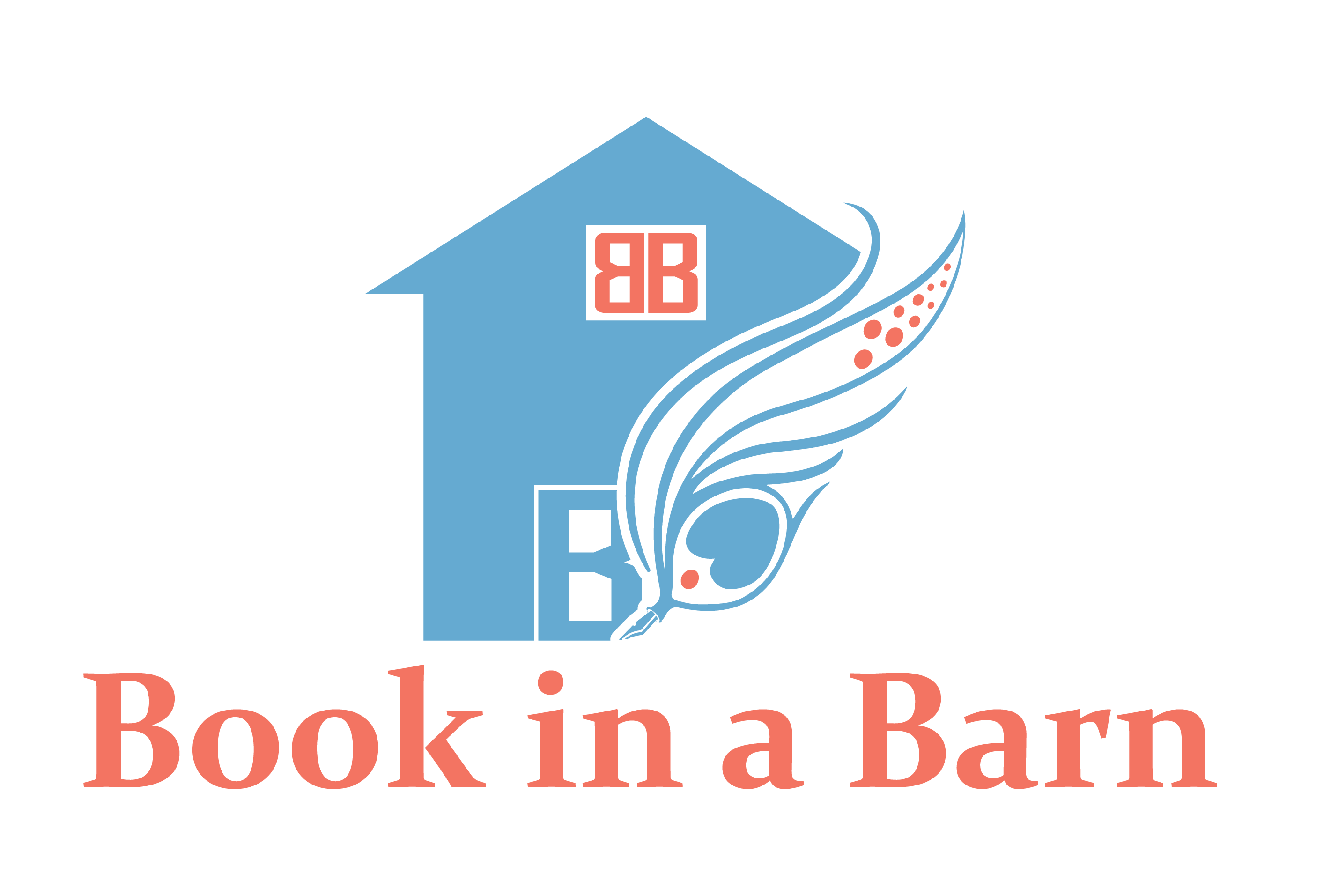 Book In a Barn Logo