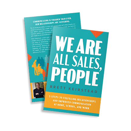 Front & Back Cover We Are All Sales People