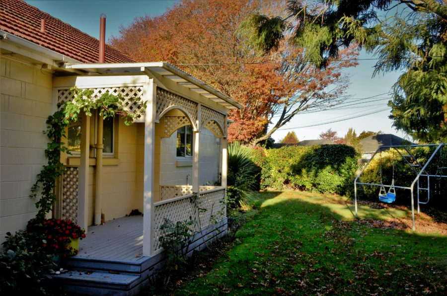 Air BnB in the heart of the city at Christchurch, New Zealand