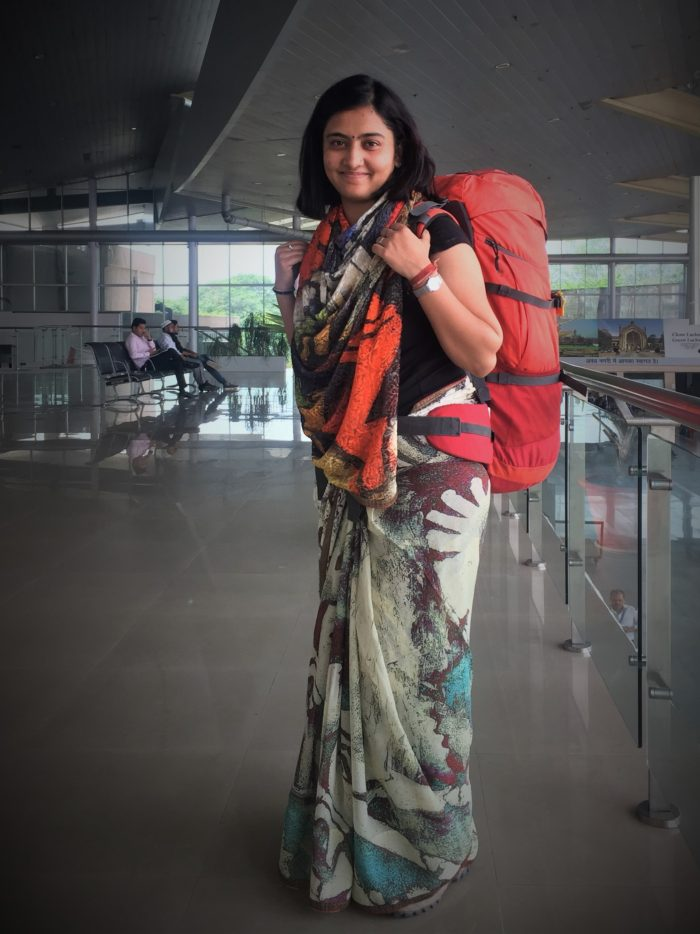 Life Beyond Usual - Travel and Saree