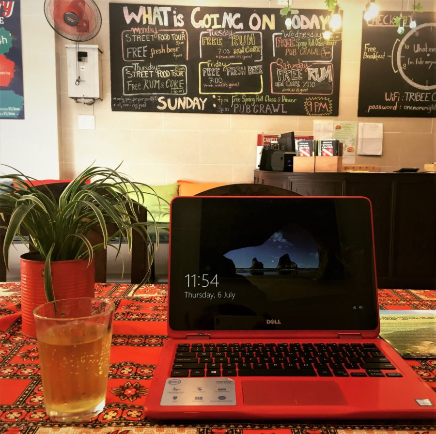 Tribee Hostel at Hoi An Old Quarter, Vietnam - While traveling alone, my first choice is always a hostel