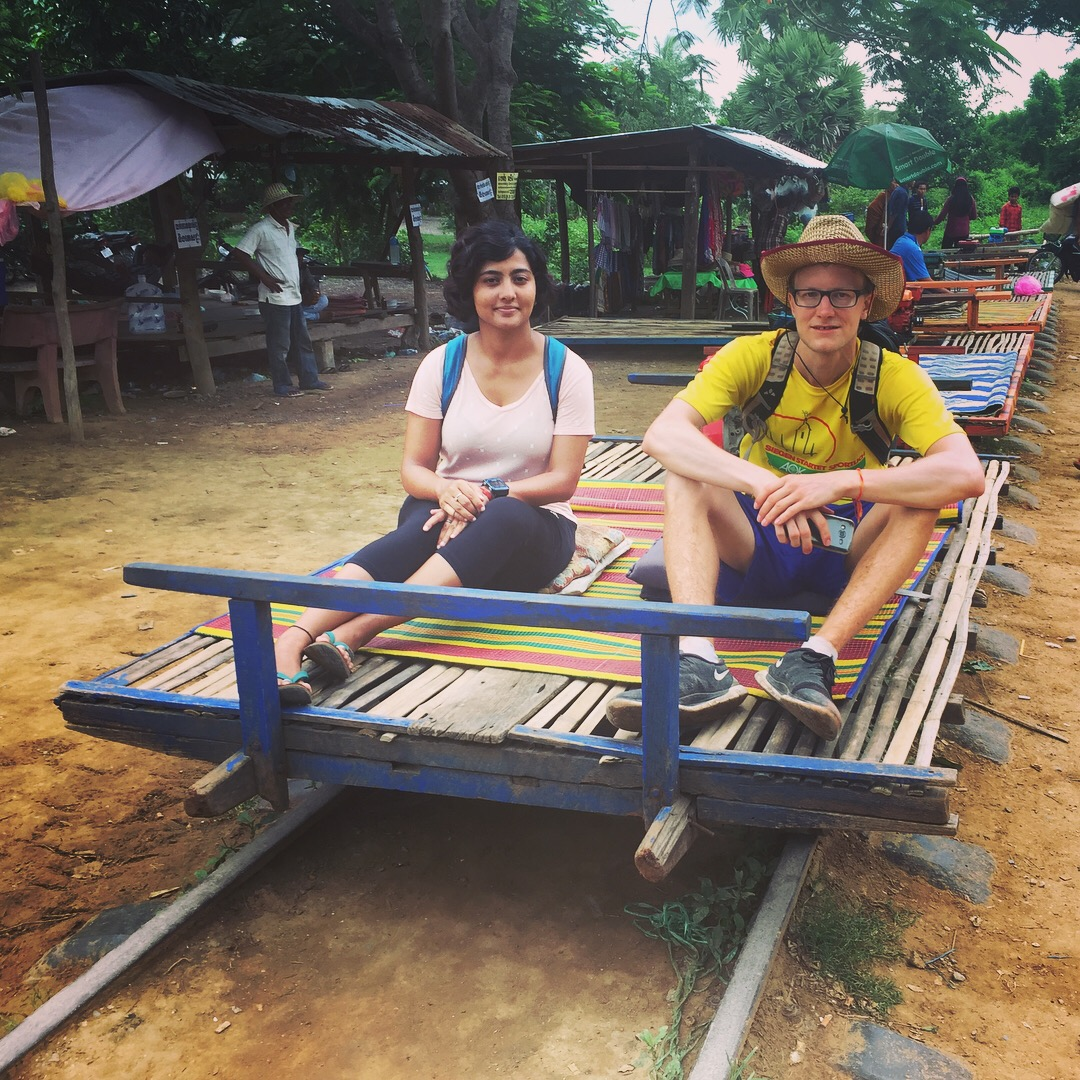Bamboo Train, Battambang, Cambodia - I always carried my important documents either in my day pack or waist bag