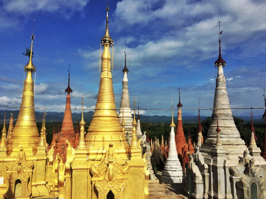 Shwe Indein Pagoda, Inle Lake, Myanmar - I could pull off this impromptu trip only because of last moment bookings done via mobile