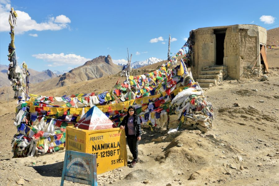 Namikala Pass on Kargil-Leh highway - I picked Laddakh for my first 10-day solo trip as it is tourist friendly