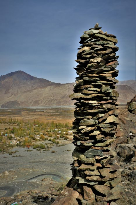 Prayer Stones at Diskit, Nubra Valley