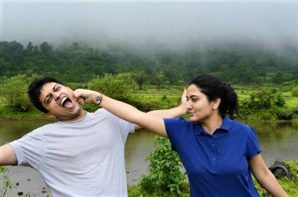 Exploring Western Ghats during monsoon - Thankfully our fights are only in front of camera!