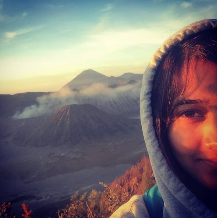 I was scared of doing night trek, but I successfully did it in order to see the magical sunrise at Mt. Bromo active Volcano in Java Island of Indonesia.
