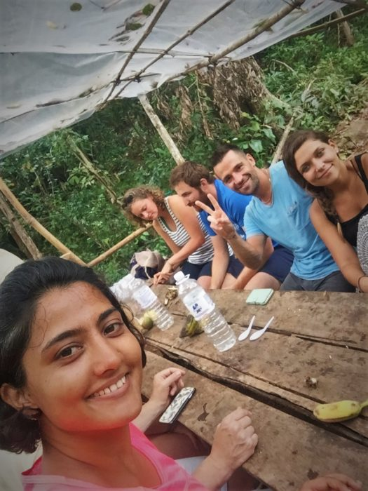 Sole travel is one of the best ways to meet new people. Making new friends at Sen Monorom, Cambodia.
