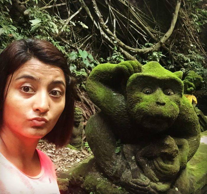 Be extremely cautious especially in popular tourist destinations. Pic - Monkeying around at Monkey Forest, Ubud, Bali, Indonesia.