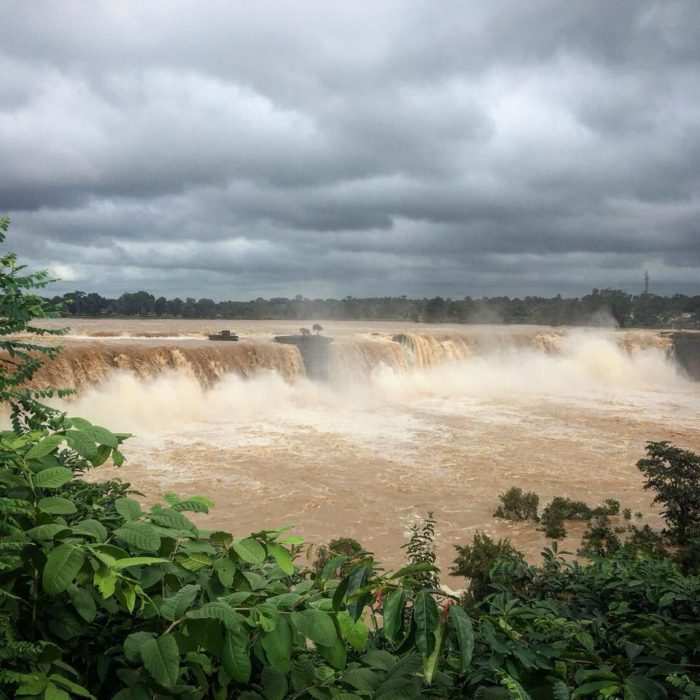 Chitrakote Waterfall a.k.a the Niagara of India during monsoon is a sight to behold.