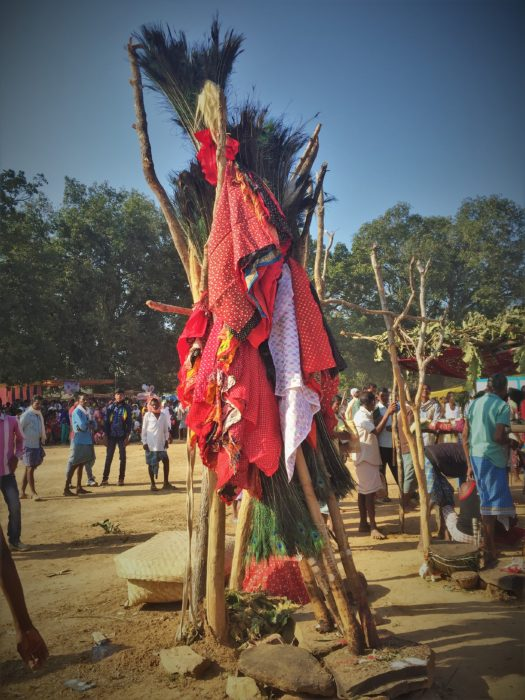Vibrant and colorful tribal festival of Ghotpal Madai, Dantewada, Southern Chhattisgarh.