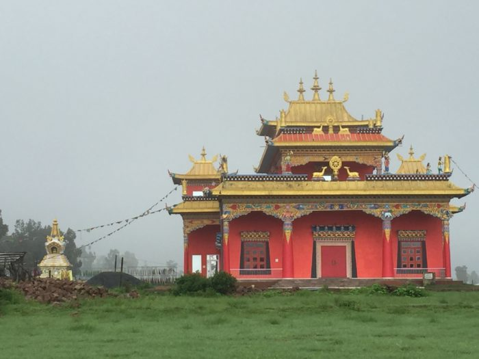 The most famous Buddhist Monastery at Mainpat a.k.a. Mini Tibet of Chhattisgarh.