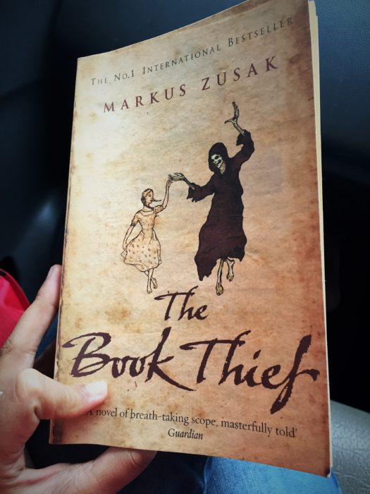 In all fairness, I did try reading good fiction books. The Book Thief by Markus Zusak