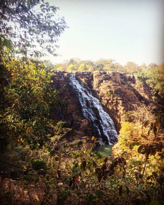 Teerathgarh Waterfall, Kanger Valley National Park, near Jagdalpur, Bastar, Southern Chhattisgarh.