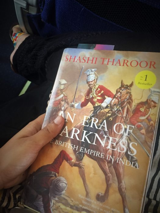 My current read: An Era of Darkness by Shashi Tharoor