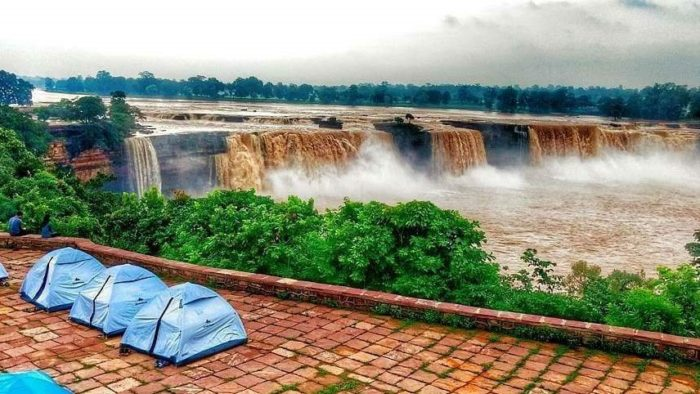 Camping at Chitrakote Waterfalls, Bastar, South Chhattisgarh. Travel Guide to Chhattisgarh. Source: Google.