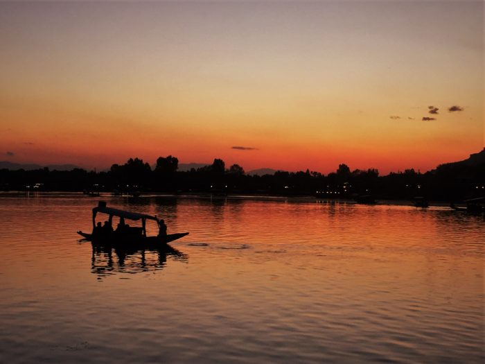 I couldn't miss the Shikara ride watching blissful sunset at Dal Lake, Srinagar.