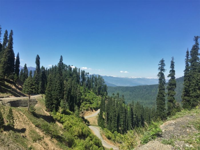 The entire stretch of riding up to Sadhna Top and beyond that is actually quite challenging and dangerous.