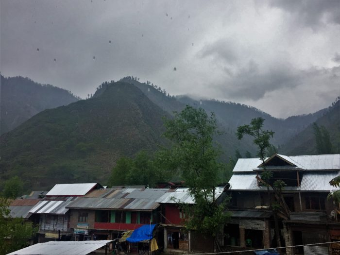 Morning rain at Tangdhar, Karnah.