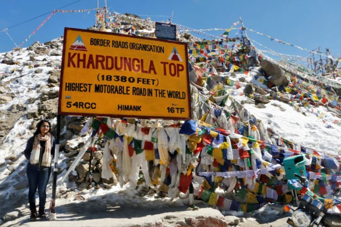 Being off-season, there was hardly any tourist on Khardung La.